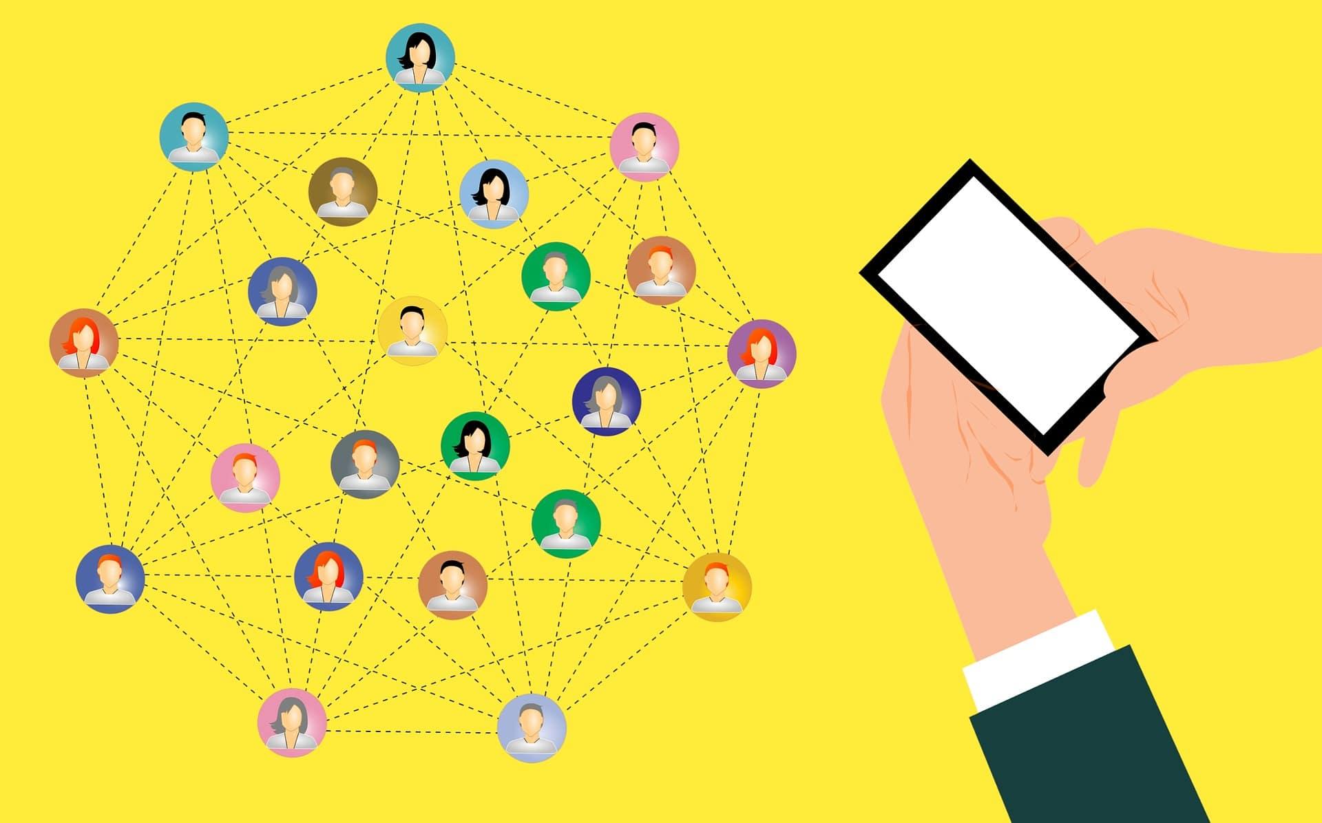 building your social media network presence